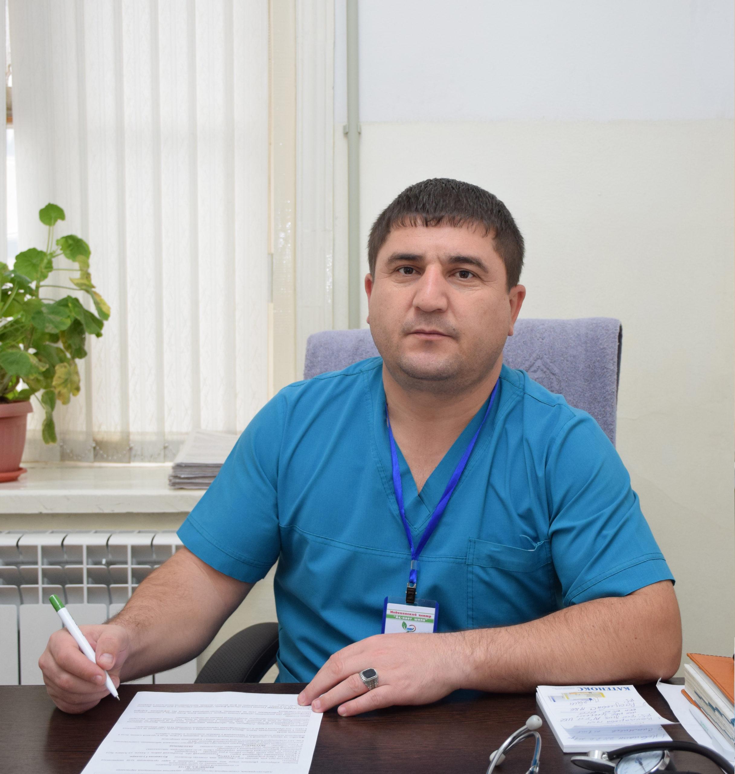 Врач клиники Akniet Shipa Сайрамский р-н. с. Карабулак